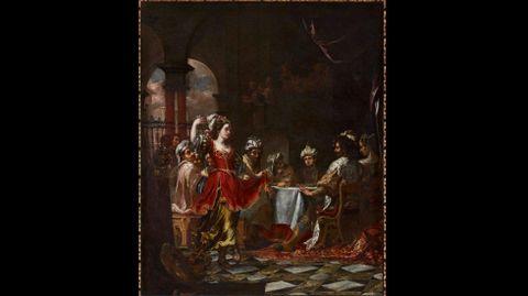Juan de Valdés Leal. «Salomé bailando ante Herodes»