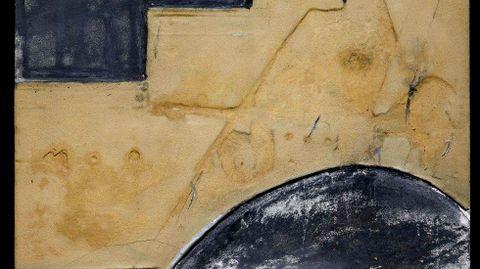 Antoni Tàpies. «Ocre y gris» (1964)