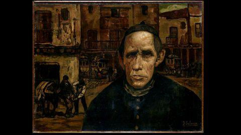 José Gutiérrez Solana. «El cura de la aldea» (1923)
