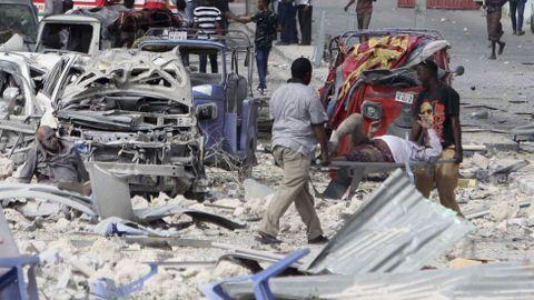 Atentado en Mogadiscio