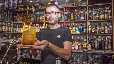 Luis López Rodiño, del Hama Cóctel- Bar.