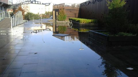 Inundaciones en Betanzos.