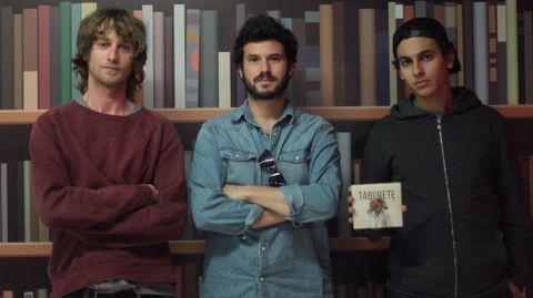 Los integrantes de Taburete en México