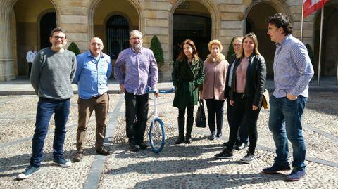 Presentación de la campaña «30 días para 3 causas» de 30 Días en Bici