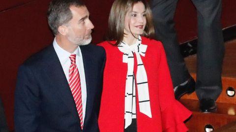 La reina ya había apostado otras veces por firmas de Inditex como Uterqüe o Massimo Dutti.
