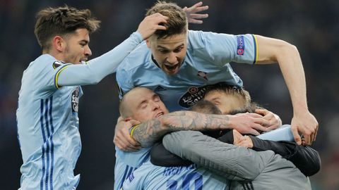 Krasnodar 0 - Celta 2 (16 de marzo)
