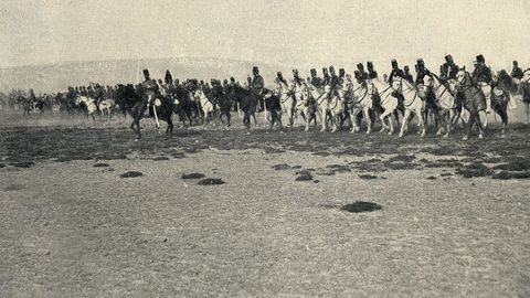Un avance de las tropas de caballería que participaron en la operación