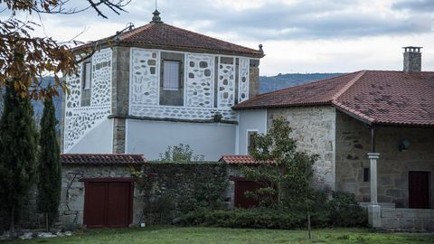 Casa Guitián, en la parroquia soberina de Lobios