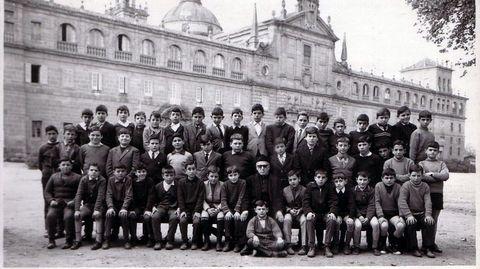 Alumnos del colegio del curso 1996-1967