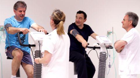 Rehabilitación cardiaca en el HUCA