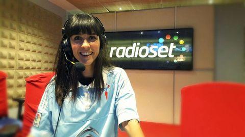 La presentadora Alba Lago