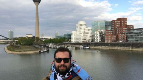 Gabriel Vidal, de Zeru Urdin, en Düsseldorf