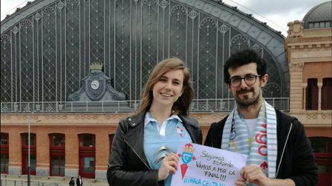 Raquel Hevia y Pedro Acevedo, desde Madrid