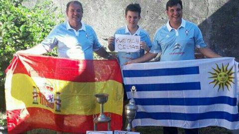 Tres generaciones desde Uruguay: Jesús Alberto Rivera, su padre y su hijo