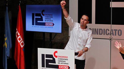 José Manuel Zapico, secretario general de CCOO