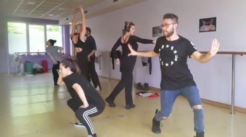 Ensayos de «35 poses», el homenaje a Madonna.Ensayos de «35 poses», el homenaje a Madonna