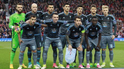 Manchester 1 - Celta 1(11 de mayo)