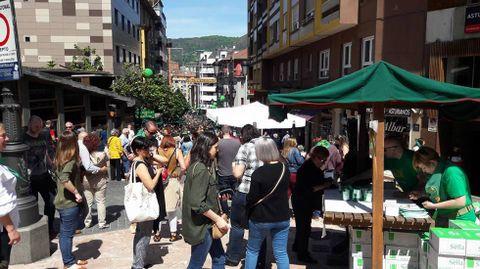 Gascona.Preba de la sidra en Oviedo