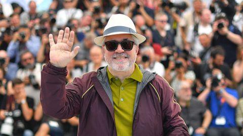 El director español Pedro Almodóvar, presidente del jurado del festival de Cannes