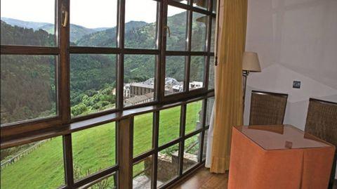 Vistas desde el Hotel La Rectoral de Taramundi.Vistas desde el Hotel La Rectoral de Taramundi