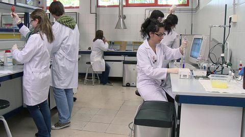 Laboratorio de la Universidad de Oviedo.Laboratorio de la Universidad de Oviedo