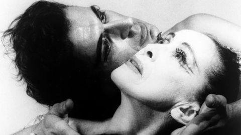 Martha Graham y Bertram Ross en 1961