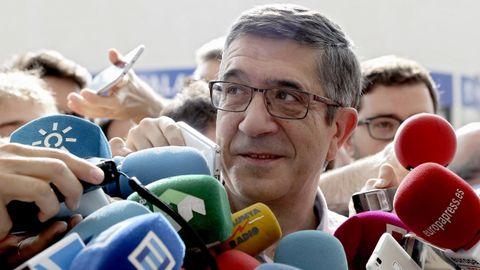 Patxi López, que fue presidente del Congreso, es el elegido por el PSOE para encabezar la comisión de reconstrucción