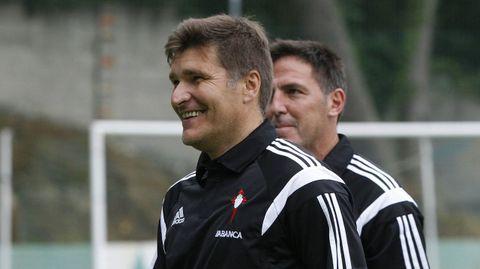 Gudelj es ahora delegado del primer equipo y Berizzo entrena al Sevilla tras su paso por el Celta