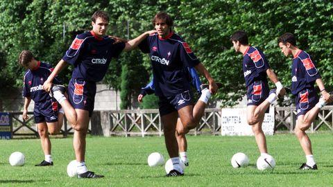 En Mondariz, en el verano del 2000