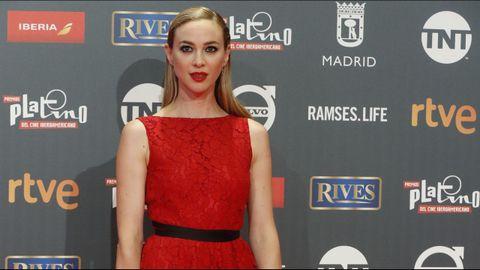 La actriz española Marta Hazas a su llegada a la ceremonia