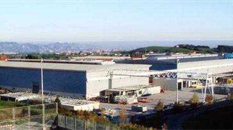 Sede de la empresa Modultec en Gijón