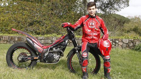 Gabriel Marcelli, Trial, 17 años. El de O Rosal, que entrena en Cataluña, suma este año cuatro victorias en el campeonato del mundo de la categoría TR2, además de ser campeón de España.