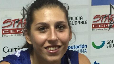 María Pérez Araújo, Baloncesto, 20 años. Establecida en la Liga Femenina con el Uni Ferrol, la viguesa fue este verano la MVP del torneo en el que la selección sub-20 se proclamó campeona europea.