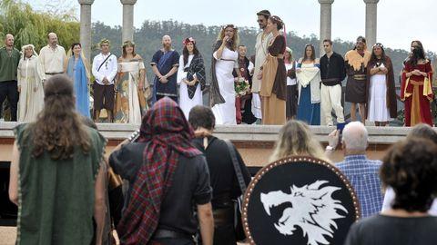Bodas celtas de Lugnasad, en Cedeira.