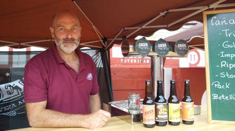 Marino Lada, uno de los socios de cervezas Deva.