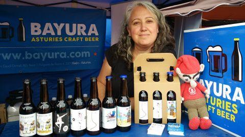 Adriana Zapico, socia de cervezas Bayura.