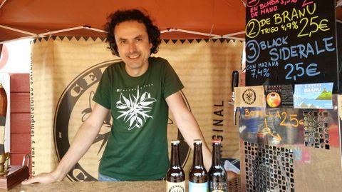 Diego Rodríguez, propietario de cervezas Cotoya.