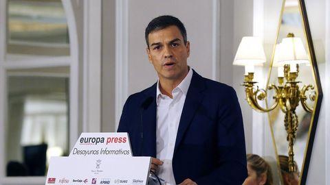 Pedro Sánchez: «La nación de naciones estaría formada por España, Cataluña, Galicia y País Vasco»