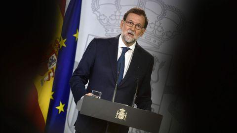 Rajoy: «No habrá referendo en Cataluña»