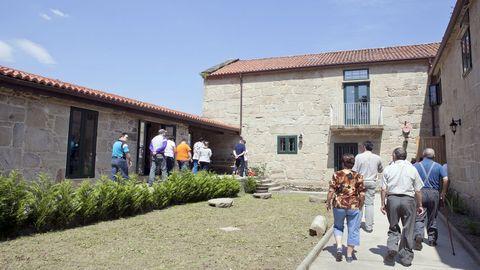 La rectoral de Sorribas fue cedida gratuitamente por 30 años a la asociación de personas con discapacidad intelectual Amipa.