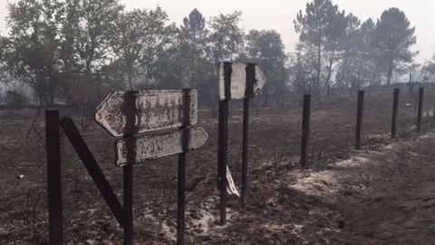 Incendio en Muíños