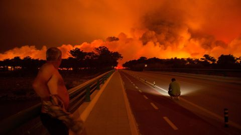 Los incendios dejan al menos 32 muertos en Portugal
