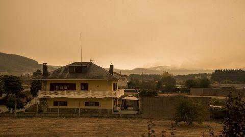 Vista desde Monforte de los montes de Chavaga