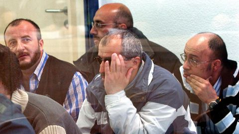 Imagen de archivo del juicio en la Audiencia Nacional. Yusuf Galán es el de la izquierda