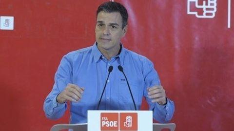 Pedro Sánchez, en Oviedo