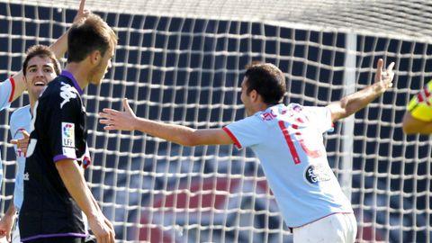 84 - Celta-Valladolid (4-1) el 12 de octubre del 2011