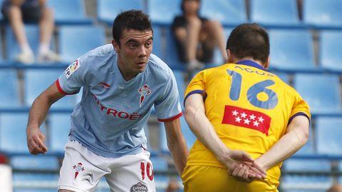 111 - Celta-Alcorcón (3-0) el 19 de mayo del 2012. Doblete de Iago