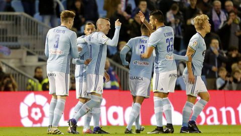 214 - Celta-Málaga (3-1) de Primera el 8 de enero del 2017