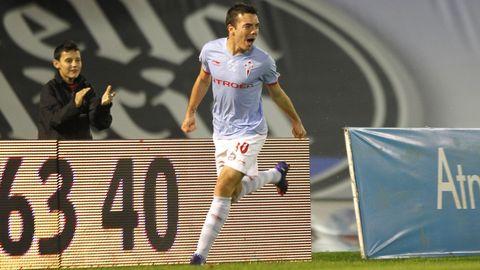 Celta-Numancia (5-0) el 9 de marzo del 2012. Doblete de Aspas