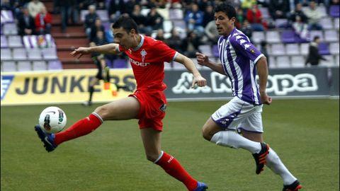 Valladolid-Celta (1-2) el 3 de marzo del 2012